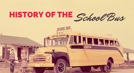 Thehistory of the school bus