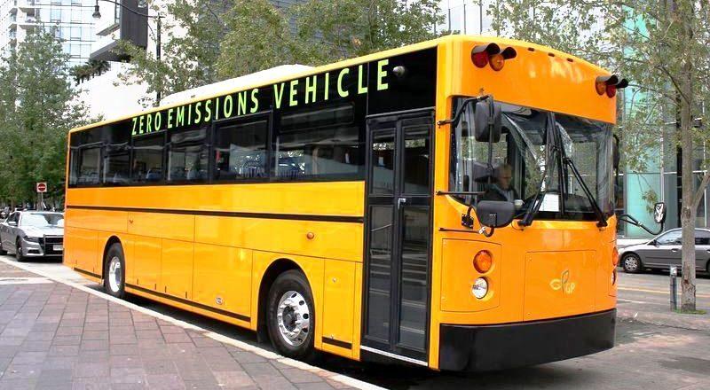 EV Canada School Bus