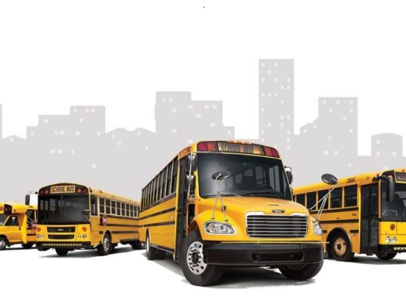 Hundreds of electric school buses are about to hit the roads across United State and Canada